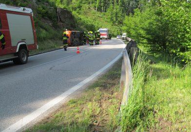 Verkehrsunfall auf B132