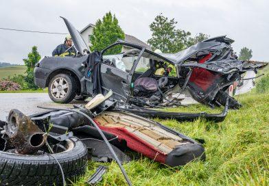 Schwerer Verkehrsunfall in Herzogsdorf