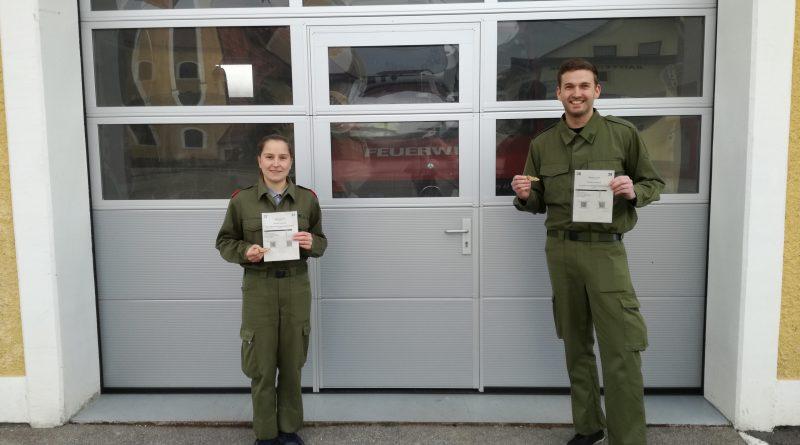 Zwei neue goldene Feuerwehr-Funker