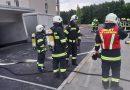 Einsatzübung: KFZ-Brand in Tiefgarage