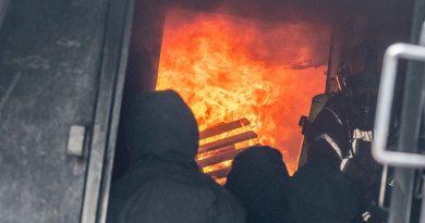 Brandcontainer: Heißausbildung für Atemschutzträger