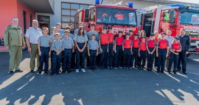 Wissenstest der Feuerwehrjugend